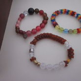 Singles With Circular And Tri Beads