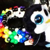 Rainbow Penguin 3d