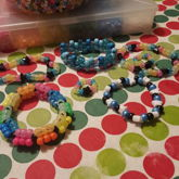 Got Bored And Made Some Kandi With My Friend
