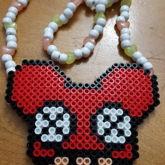 Deadmau5 Mushroom Perler Necklace