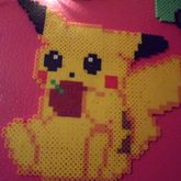 Pikachu With Apple