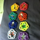 The 8 Flowers On Clips