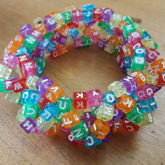 Crazy Letter 3D Cuff