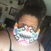 Sugar Skull Kandi Mask