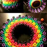 Rainbow 3d Ladder Cuff