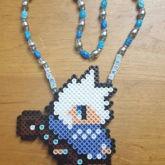 Jack Frost Perler Necklace