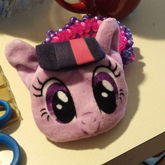 3d X Base With Twilight Sparkle Coin Purse