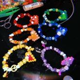 Perler Heart Bracelets