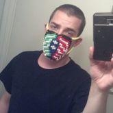 First Face Mask! Bassnectar!