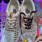 Vans Shoes With Beads On Them