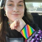 Pride Cuff And Purple Epic Cuff :3
