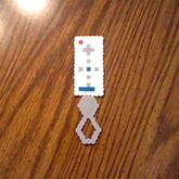My Wii Remote Perler