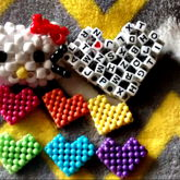 3D Hello Kitty And Hearts