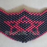 Star/Pentagram D-Ring Kandi Mask By RivetGiRL Falls