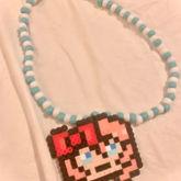 Sayori Perler Necklace <3