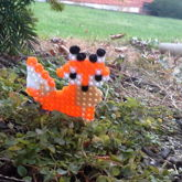 Perler Bead Fox