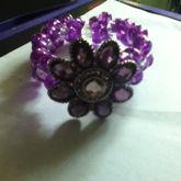 Purple Flower Double