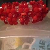 Red Skull 3d Cuff