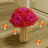 3-D Mushroom!