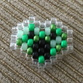 Minecraft Creeper Heart Peyote