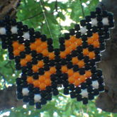 Monarch Bead Butterfly [Peyote Stitch]