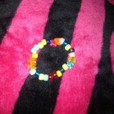 Star Butterfly And Flower Bracelet