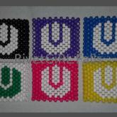 6 Ultra Music Fest Inspired Logos Kandi Cuff Bracelets