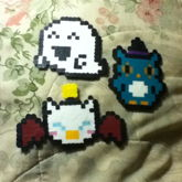 Ghost,Halloween Owl And Moogle