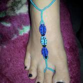 Ladybug Barefoot Sandal