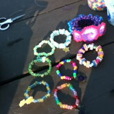 What I Made At The Kandi Sesh Yesterday