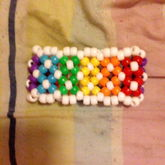 Rainbow Double Layer X Cuff