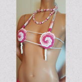 Lollipop Kandipasties With Matching Necklace
