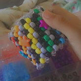 Black Gray Rainbow Cuff