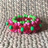Pink & Green 3D