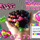 Rainbow Ufo Cuff W/ Star!!!
