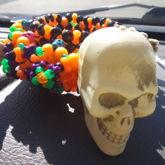 Halloween Kandi Cuff