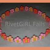 Daisy Flower Kandi Headband Made By RivetGiRL Falls