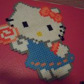 Hello Kitty With Lollipop