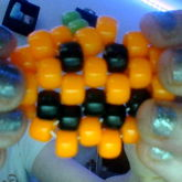 Cute Pumpkin Peyote Stitch!