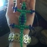 Green And Purple Geko My Luck Charm