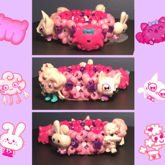 Pink Moshling 3D Cuff
