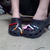 kandi crocs 2
