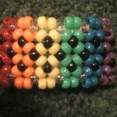 Rainbow Xbase Cuff