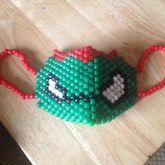 Raphael Ninja Turtle Mask
