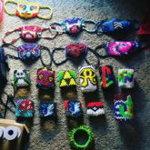 My Old Collection When I First Started Making Kandi