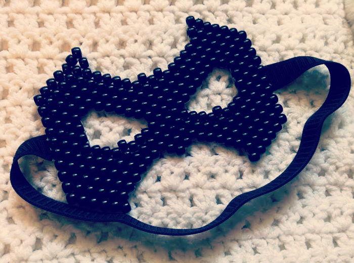 Batman Mask By Jinxyjess Kandi Photos On Kandi Patterns