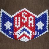 USA D-Ring Kandi Mask