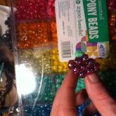 Purple Sparcle Diamond Ring