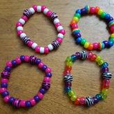 Zebra & Rainbow Singles