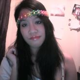Sparkly Rainbow Translucent Flower Headband